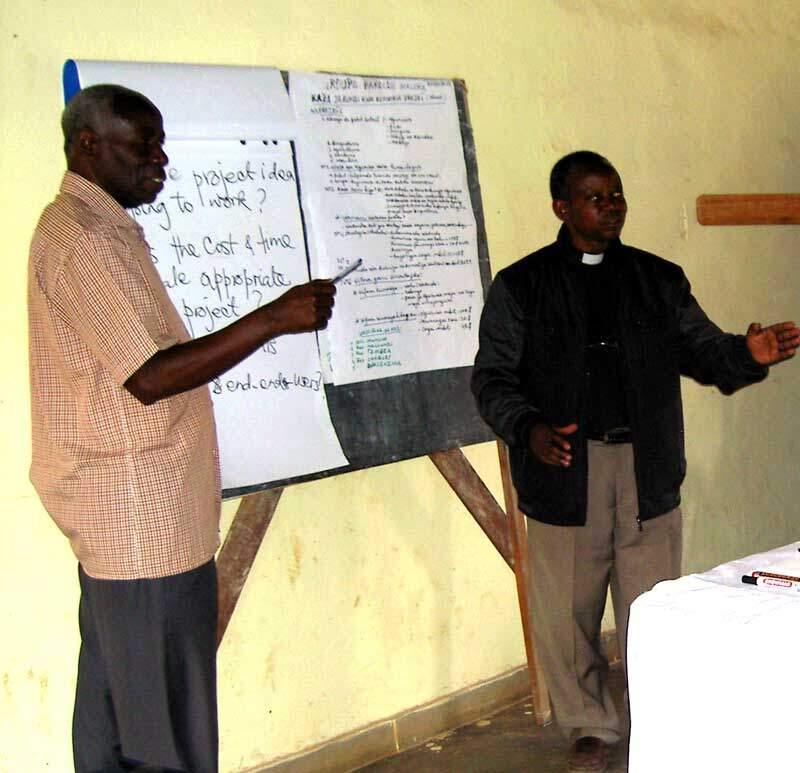 Fachpersonal entsenden, Netzwerk Ostafrika